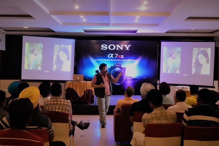 Exclusive workshop on purchase of Sony Alpha cameras