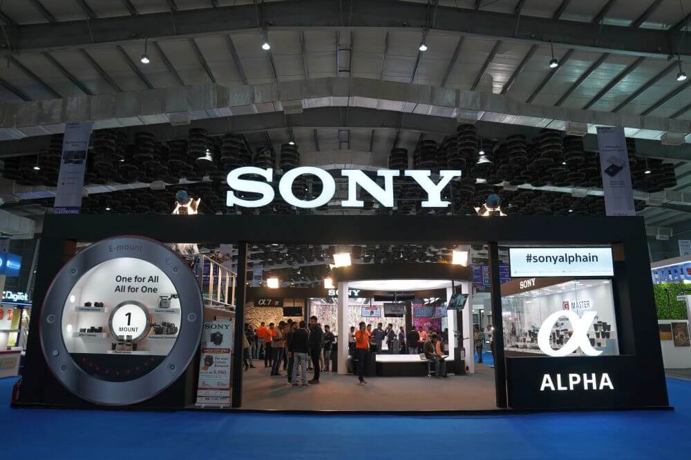Highlights of Sony India booth at the Consumer Electronic Imaging Fair, 2020