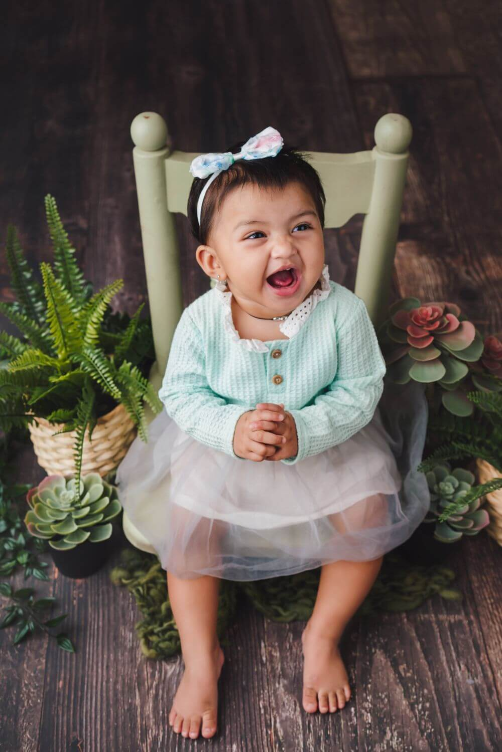 How to do a set up for baby photography